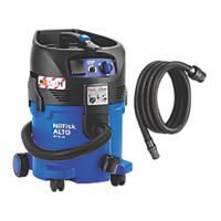 Nilfisk ATTIX 30 -2M 1000W 30Ltr Wet & Dry Vacuum Dust Extractor 110V