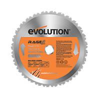 Evolution Rage Multipurpose Saw Blade 255mm