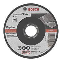 Bosch Metal Cutting Discs 115 x 1 x 22.23mm Pack of 10