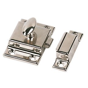 Cupboard Latch Nickel Plated 54mm Latches Amp Catches