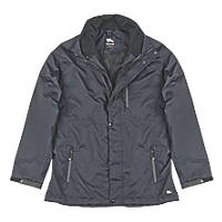 "Hyena Asgard Waterproof Jacket Black Large 53"" Chest"