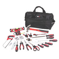 Forge Steel Hand Tool Kit 55 Piece Set
