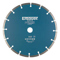 Erbauer Diamond Segmented Blade 230 x 22.23mm