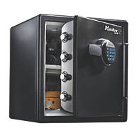 Master Lock Electronic Water-Resistant 1-Hour Fire Safe 34.8Ltr