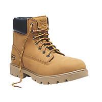 Timberland Pro Sawhorse Safety Boots Wheat Size 8