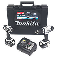 Makita 18V LXT Twin Pack
