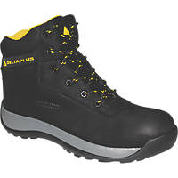 Delta Plus Saga Water-Resistant Safety Boots Black Size 9