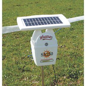 Wolseley Sx250 Solar Powered Electric Fence Energiser