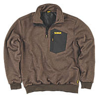 "DeWalt Brunswick Windproof Jumper Olive X Large 45-47"" Chest"