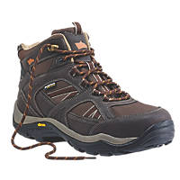Hyena Ravine Waterproof Safety Boots Brown Size 12