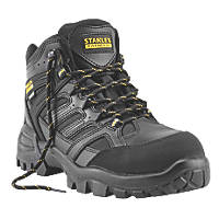 Stanley FatMax Ontario Waterproof Safety Boots Black Size 8