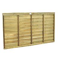 Forest Superlap Fence Panels 1.82 x 1.2m 4 Pack