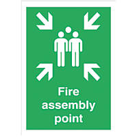 """Fire Assembly Point"" Sign 420 x 297mm"