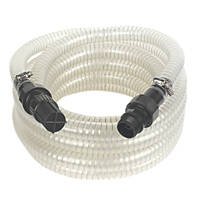 """Reinforced Suction Hose with Filter Clear 7m x 1"""""""