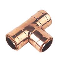 Conex Cuprofit Push-Fit Equal Tee 28 x 28 x 28mm
