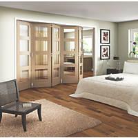 Jeld-Wen Shaker 4-Panel Interior Room Divider Unfinished 2052 x 3163mm