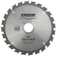 Erbauer TCT Saw Blade 184 x 30mm 24T