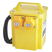 Portable Transformer with 2 Output Sockets 3kVA
