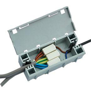 wagobox light junction box cable connectors. Black Bedroom Furniture Sets. Home Design Ideas