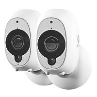 Swann SWWHD-INTCAMPK2-UK 1080p Wire-Free Security Camera Twin Pack