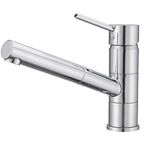 cooke and lewis 11a pull out spray mono mixer kitchen tap. Black Bedroom Furniture Sets. Home Design Ideas