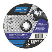 "Norton Grinding Disc 9"" (9mm) x 6 x 22.23mm"