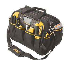 stanley fatmax dual access tool bag tool bags. Black Bedroom Furniture Sets. Home Design Ideas
