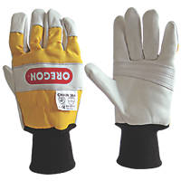 Oregon  2-Handed Protection Chainsaw Gloves L
