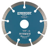 Erbauer Diamond Segmented Blade 115 x 22.23mm