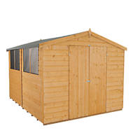 Forest 8' x 10' (Nominal) Apex Shiplap Timber Shed with Assembly