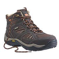 Hyena Ravine Waterproof Safety Boots Brown Size 10