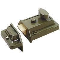 Smith & Locke  Traditional Rim Cylinder Night Latch Green 60mm Backset