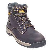 DeWalt Bolster Safety Boots Brown Size 8