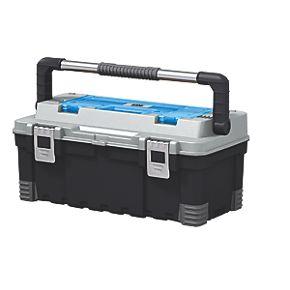 mac allister 22 tool box plastic toolboxes. Black Bedroom Furniture Sets. Home Design Ideas