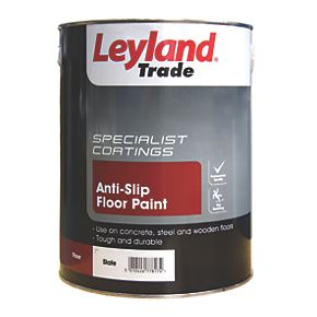 Leyland Trade Anti Slip Floor Paint Slate 5ltr Floor Paints