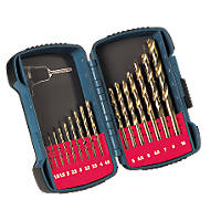 Makita P-51873 HSS Titanium-Plated Drill Bit Set 16Pcs