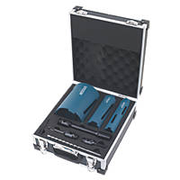Erbauer Diamond Core Drill Kit 8 Pcs