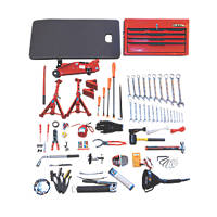 Hilka Pro-Craft 6-Drawer Mechanics Service Kit & Tools 91 Piece Set