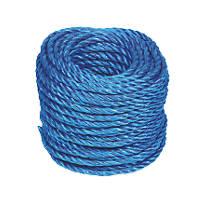 Stranded Polypropylene Rope Blue 6mm x 30m