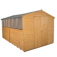 Forest 8' x 12' (Nominal) Apex Shiplap Timber Shed