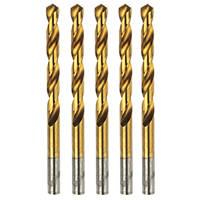 Erbauer Ground HSS Drill Bit 10mm Pack of 5