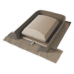 Glidevale Universal Tile Ventilator Brown Roofing