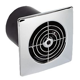 Manrose Lp100st 20w Ceiling Wall Mounted Extractor Fan Timer Bathroom Extractor Fans