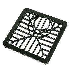 Floplast Gulley Grid 150mm Black Guttering Accessories