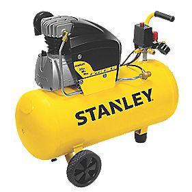 stanley fcdv4g4scr006 50ltr air compressor 240v air compressors. Black Bedroom Furniture Sets. Home Design Ideas