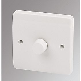 Mk Logic Plus 1 Gang 2 Way Dimmer Switch Mains Low Voltage