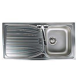 Astracast Alto Kitchen Sink S Steel