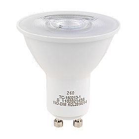 lap gu10 led light bulb 230lm 3w 5 pack light bulbs. Black Bedroom Furniture Sets. Home Design Ideas