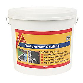 Sika Waterproof Coating Grey 5kg Waterproofing Agents