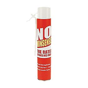 No Nonsense Fire Rated Expanding Foam Hand Held 750ml